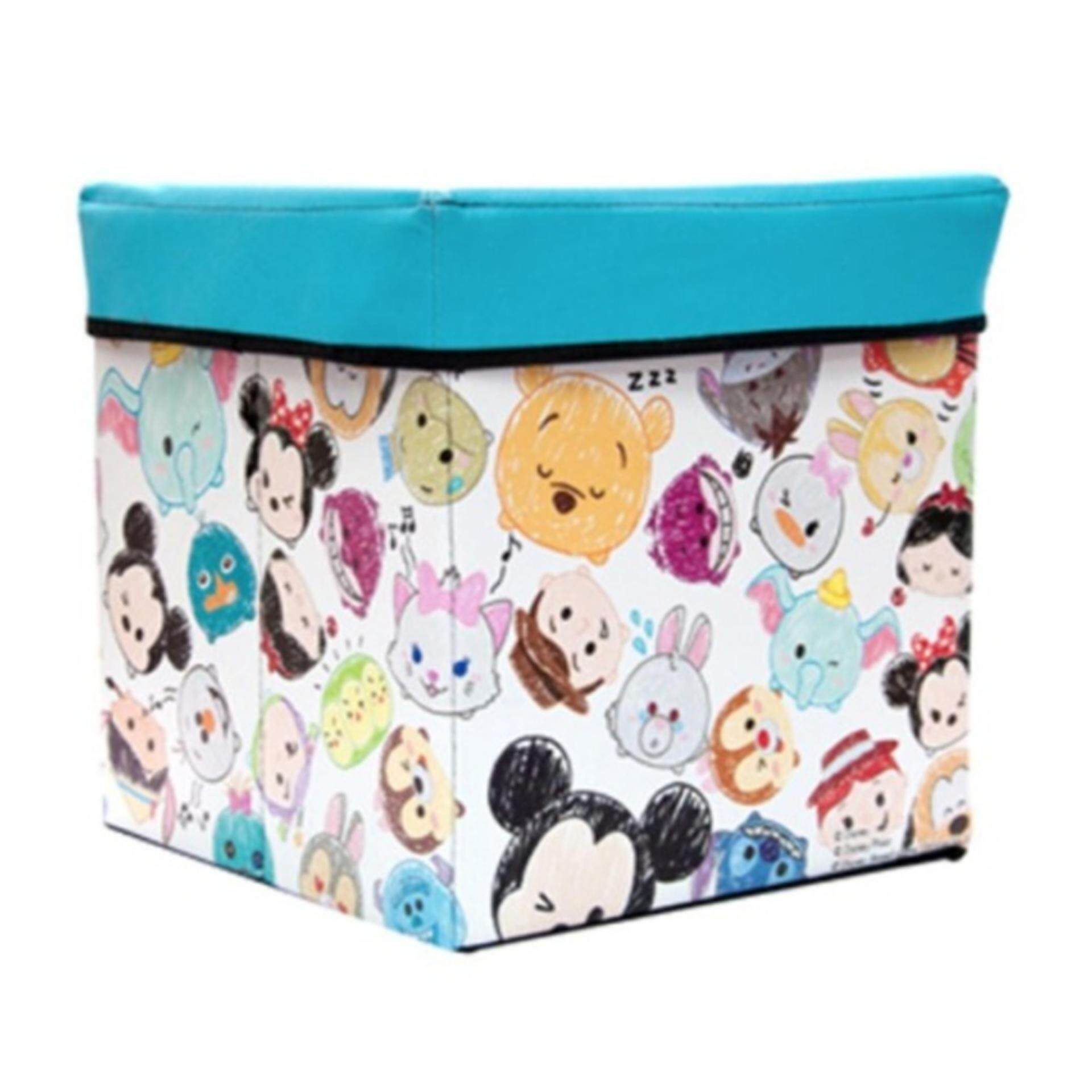 Disney Tsum Tsum Storage Box - Blue Colour