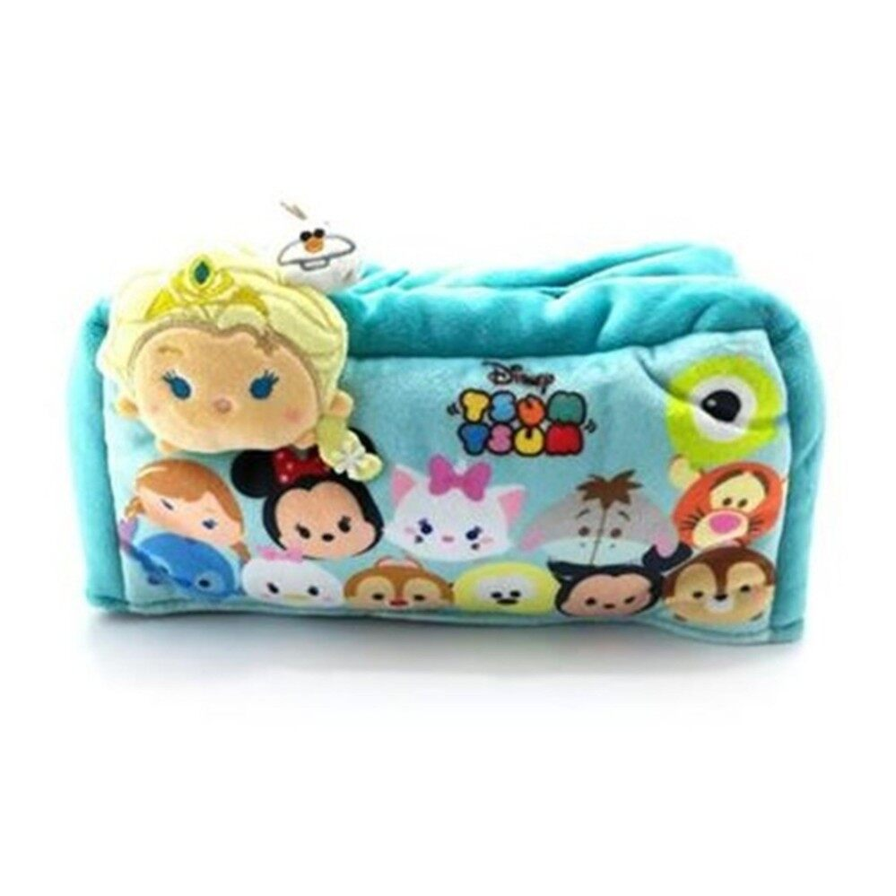 Disney Tsum Tsum Tissue Cover - Blue Colour