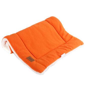 Harga Dog Crate Mat Kennel Cage Pad Bed size S (orange)