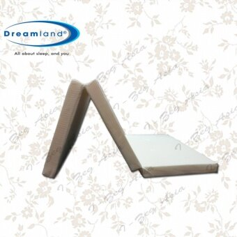 Harga Dreamland Foldable Latex Feel Single Mattress