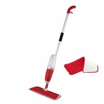 Harga Easy Spray Mop with Microfiber Mop Pad (Red)