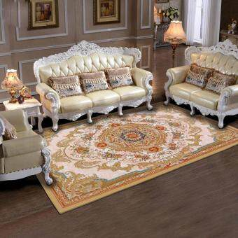 European 3D Printed Anti-slip Kitchen Rugs Floor Mats AbsorbentCarpets for Bedroom Washable Entrance Doormats