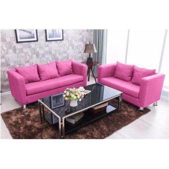 Harga F&F: LOUISSE Sitting Room Concept Furniture 3 Seater Lax &Soothed Settee - Sofa Design