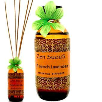 Zensuous Aromatherapy Reed Diffuser Oil 100ml-French Lavender