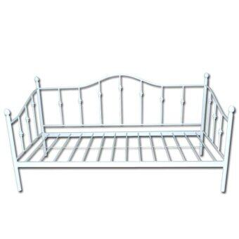 Furniturerun Kayla Metal DayBed (White)
