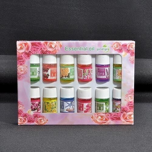 GzOliya Aroma oils with 12 kinds of fragrance Aroma Therapy Humidifier
