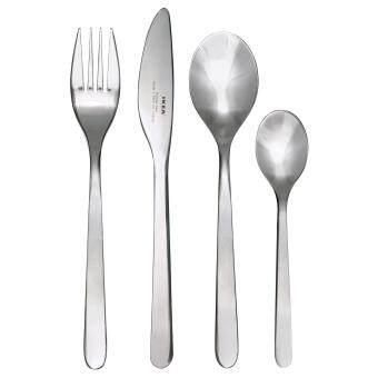 IKEA FORNUFT 24-piece Stainless Steel Cutlery Set