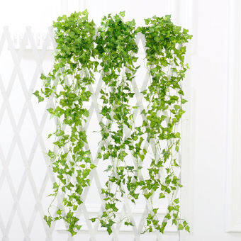 Harga 2.4m Artificial Ivy Leaf Garland Plants Vine Fake Foliage Flowers Home Decor