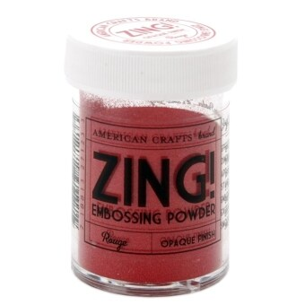 Harga Zing Opaque Embossing Powder - Rogue