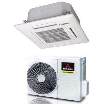Harga Mitsubishi 2.0hp Eco-Friendly Ceilling Cassette Air Conditioner(R410) - FDT50CRS