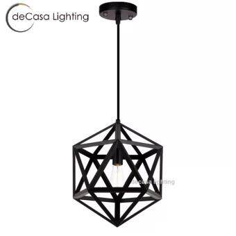 Harga Big Diamond Black Ceiling Hanging Light Brand new and high quality Adjustable length Suitable for dining room, bedroom, living room Great decoration Restaurant Cafe