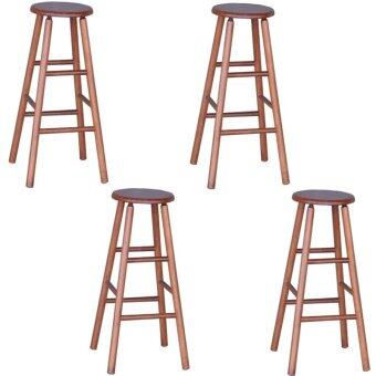 Harga HGF-ST-R700AO-4 High Bar Stool Antique Oak Set of 4