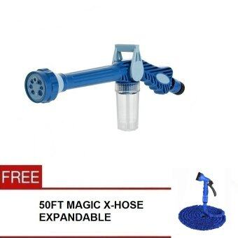 Harga Water Cannon EZ JET Multi-Function Spray Gun With Built-in Soap Dispenser + Magic X Hose