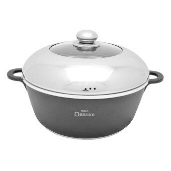 Harga Nice Dessini Non-Stick Soup Pot - Medium (24cm)