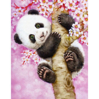 Harga 5D Diamond DIY Painting Craft Panda Home Decor
