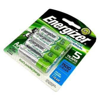Harga Energizer Recharge Battery 4AA 2000mAh Rechargeable Batteries