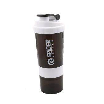 Harga Ai Home 500ml Protein Blender Shaker Shaking Cup Bottle Drinkware Barware Tool (White)