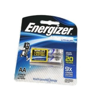 Harga Energizer Ultimate 2AA Pack Lithium Battery