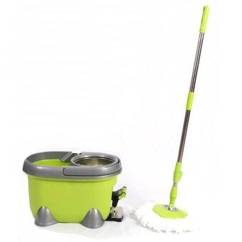Harga Easy Spin Mop with Pedal and Stainless Steel Handlel