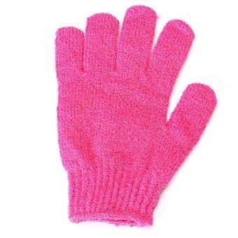 Harga IBERL 2PCS Exfoliating Bath Glove Shower Skin Care Back Body Scrub Cleaning Massage Mitt