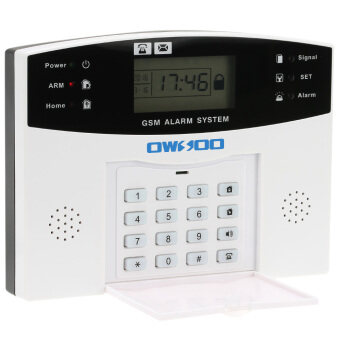 Harga OWSOO GSM Wireless Home House Burglar Security Alarm System SMS Alert Auto Dialer