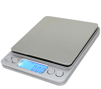 Harga Spirit- Mini Electronic Digital Pocket Jewelry Scale / Kitchen Scale 0.001oz/0.01g 500g Portable Balance LCD (Silver)