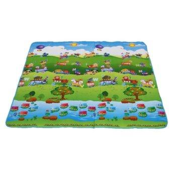 Harga Vessini Series Baby Kid Toddler Play Crawl Mat Carpet Playmat Foam Blanket Rug for In/Out Doors D