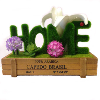 Harga Home Sweet Home in Artificial Flower Decor