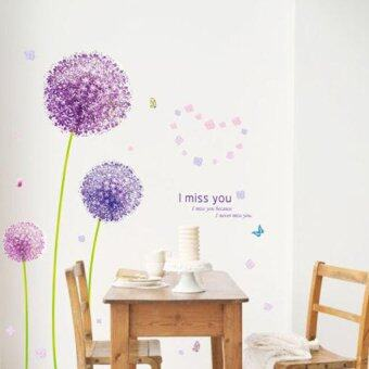 Harga Dandelion Removable Wallpaper Wall Sticker Decoration