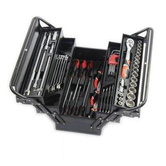 Harga Yato Professional Cantilever Tool Box with 62pcs Tools Kit Set YT-3895