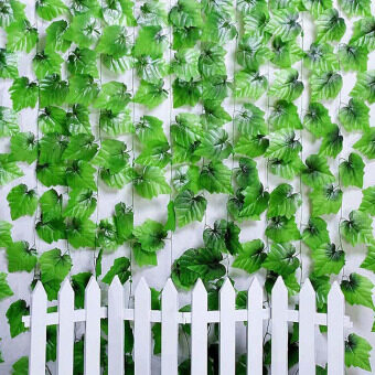 Harga Artificial Plastic Ivy Leaf Garland Plants Vine Foliage Flowers Home Decor HPX-