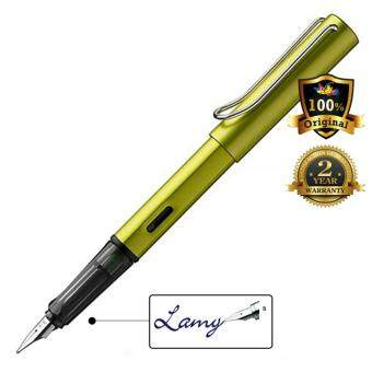 Harga Lamy AL-Star Fountain Pen Special Limited Edition Broad Nib Charged Green-52B
