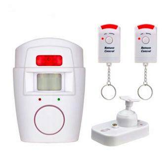 Harga Home Security PIR MP Alert Infrared Sensor Anti-theft Motion Detector Alarm Monitor Wireless Alarm System