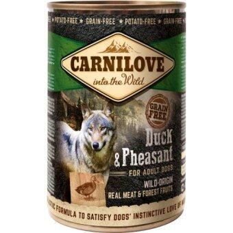 Harga Brit Carnilove Wild-Origin Real Meat Duck & Pheasant For Adult Dogs (400G x 3)