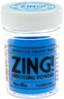 Harga Zing Fluorescent Embossing Powder - Neon Blue