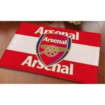 Harga Football Club-Themed Mat-Arsenal