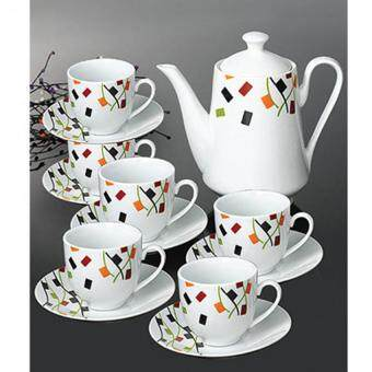 Harga 14 Piece Time Square Tea Set