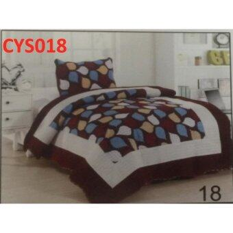 Harga PATCHWORK SINGLE SIZE FITTED BEDSHEET