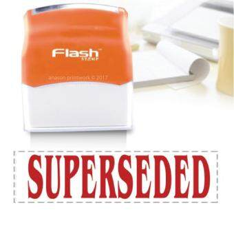 Harga READY MADE FLASH STAMP (SUPERSEDED) RED INK