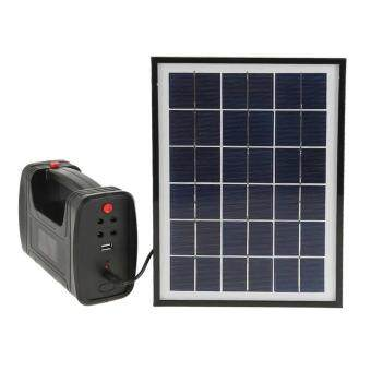 Harga Solar Power Panel LED Light Lamp USB Charger Home System Set Garden Outdoor Camp