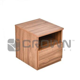Harga Zome Jeni Bed Side Table - Honeypine