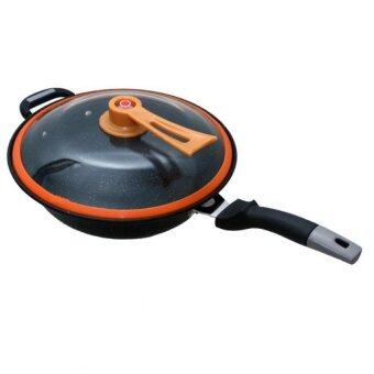 Harga GEEGO Japan Maifan Stone Health 32cm Wok With Non-Stick Surface