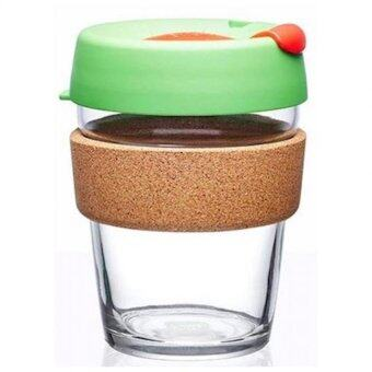 Harga KeepCup Glass Coffee Cup - Brew Cork Series - Rudolph (12 oz)