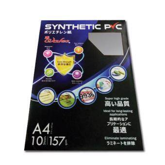 Harga Wales A4 Synthetic PVC 157gsm 10's