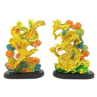 Harga Feng Shui Golden Dragon and Phoenix