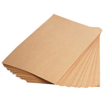 Harga 100pcs Brown Kraft Paper 150gsm A4 for Printing and Craft