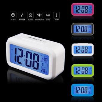 Harga LED Alarm Clock,despertador Temperature Sounds Control LED display,electronic desktop Digital table clocks
