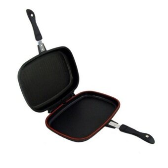 Harga Dessini Double Sided Pressure Grill Frying Pan 40CM