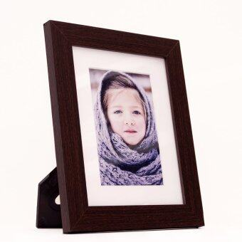 Harga Fotable-s Brown Frame - Table Top Photo Frame - 4R / 6R Photo Print