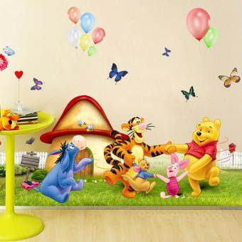 Harga Hequ Winnie the Pooh Nursery Room Wall Decal Stickers For Kids Baby Kids Children NEW